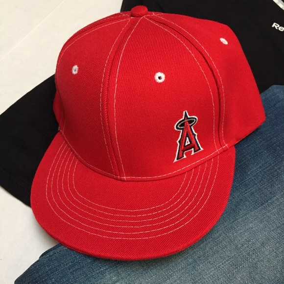 5eebd449d HP // MLB Los Angeles Anaheim Angels Snapback Hat